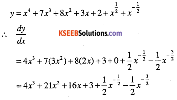 1st PUC Maths Question Bank Chapter 13 Limits and Derivatives 124