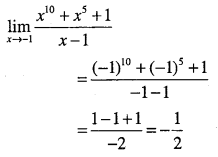 1st PUC Maths Question Bank Chapter 13 Limits and Derivatives 14