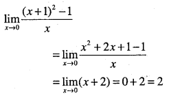 1st PUC Maths Question Bank Chapter 13 Limits and Derivatives 15