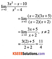 1st PUC Maths Question Bank Chapter 13 Limits and Derivatives 16