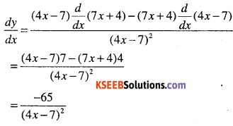 1st PUC Maths Question Bank Chapter 13 Limits and Derivatives 163
