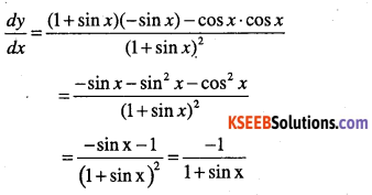 1st PUC Maths Question Bank Chapter 13 Limits and Derivatives 188
