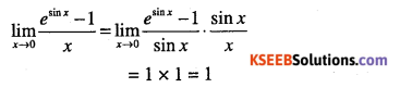 1st PUC Maths Question Bank Chapter 13 Limits and Derivatives 198