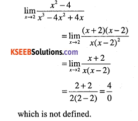 1st PUC Maths Question Bank Chapter 13 Limits and Derivatives 24