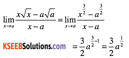 1st PUC Maths Question Bank Chapter 13 Limits and Derivatives 32