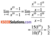 1st PUC Maths Question Bank Chapter 13 Limits and Derivatives 34
