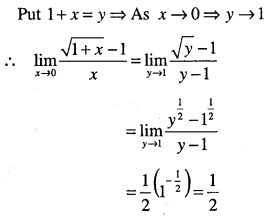 1st PUC Maths Question Bank Chapter 13 Limits and Derivatives 40