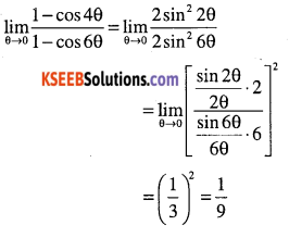 1st PUC Maths Question Bank Chapter 13 Limits and Derivatives 55