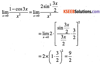 1st PUC Maths Question Bank Chapter 13 Limits and Derivatives 57