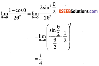 1st PUC Maths Question Bank Chapter 13 Limits and Derivatives 58