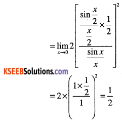 1st PUC Maths Question Bank Chapter 13 Limits and Derivatives 68