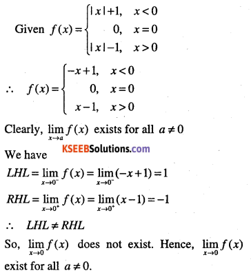 1st PUC Maths Question Bank Chapter 13 Limits and Derivatives 79