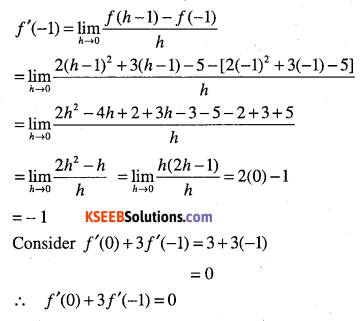 1st PUC Maths Question Bank Chapter 13 Limits and Derivatives 89