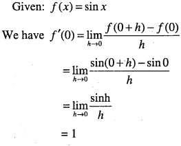 1st PUC Maths Question Bank Chapter 13 Limits and Derivatives 90