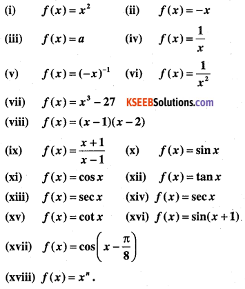 1st PUC Maths Question Bank Chapter 13 Limits and Derivatives 93