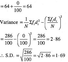 1st PUC Maths Question Bank Chapter 15 Statistics 31