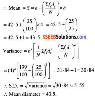 1st PUC Maths Question Bank Chapter 15 Statistics 37