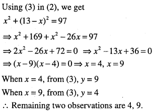 1st PUC Maths Question Bank Chapter 15 Statistics 53