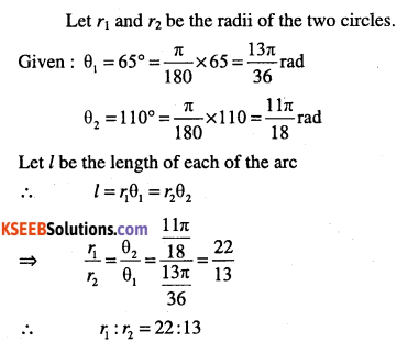 1st PUC Maths Question Bank Chapter 3 Trigonometric Functions 11