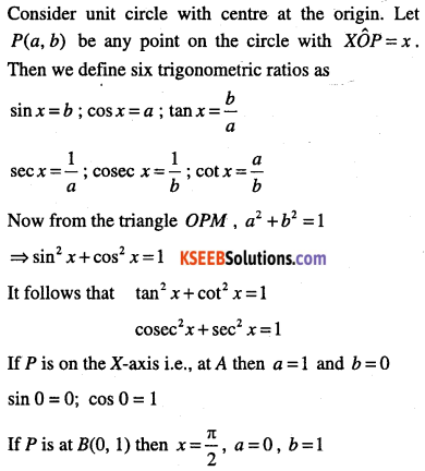 1st PUC Maths Question Bank Chapter 3 Trigonometric Functions 15