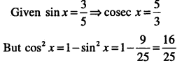 1st PUC Maths Question Bank Chapter 3 Trigonometric Functions 24