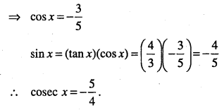 1st PUC Maths Question Bank Chapter 3 Trigonometric Functions 28