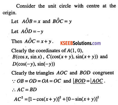 1st PUC Maths Question Bank Chapter 3 Trigonometric Functions 31