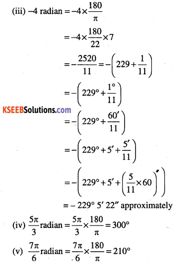 1st PUC Maths Question Bank Chapter 3 Trigonometric Functions 5