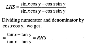 1st PUC Maths Question Bank Chapter 3 Trigonometric Functions 54