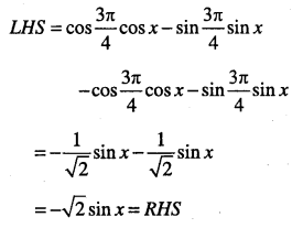 1st PUC Maths Question Bank Chapter 3 Trigonometric Functions 56