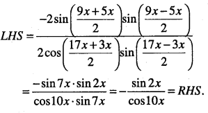 1st PUC Maths Question Bank Chapter 3 Trigonometric Functions 57