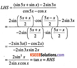 1st PUC Maths Question Bank Chapter 3 Trigonometric Functions 64