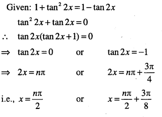 1st PUC Maths Question Bank Chapter 3 Trigonometric Functions 97