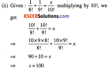 1st PUC Maths Question Bank Chapter 7 Permutations and Combinations 16