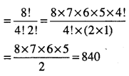 1st PUC Maths Question Bank Chapter 7 Permutations and Combinations 32
