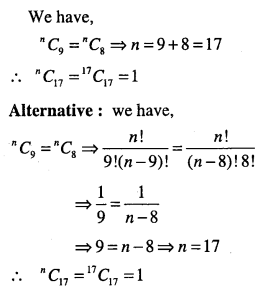 1st PUC Maths Question Bank Chapter 7 Permutations and Combinations 41