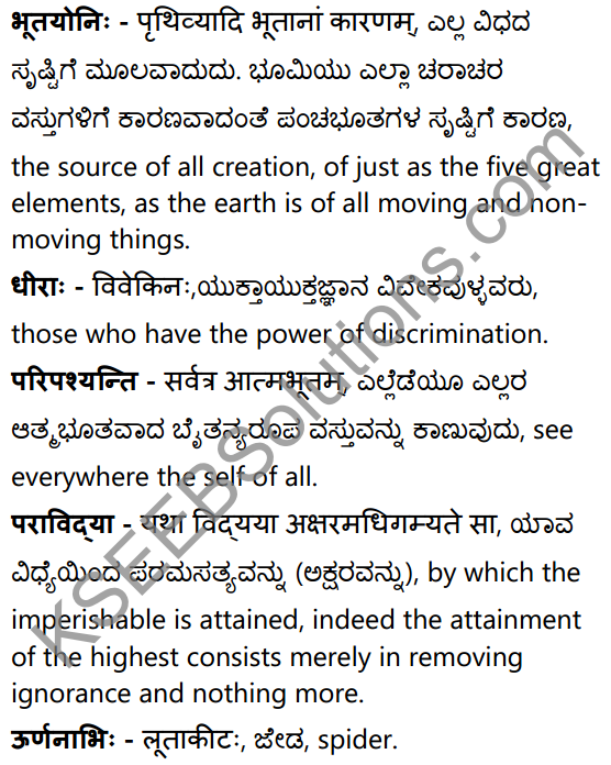 द्वे विद्ये वेदितव्ये Summary in Kannada and English 24