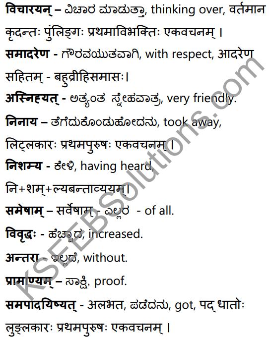 सन्मित्रम् Summary in Kannada and English 26