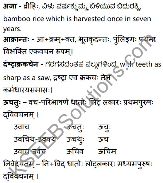 विवादः विनाशाय Summary in Kannada and English 30