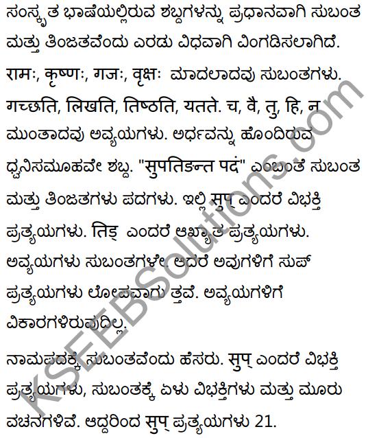 1st PUC Sanskrit Textbook Answers Vyakaran शब्दाः 1