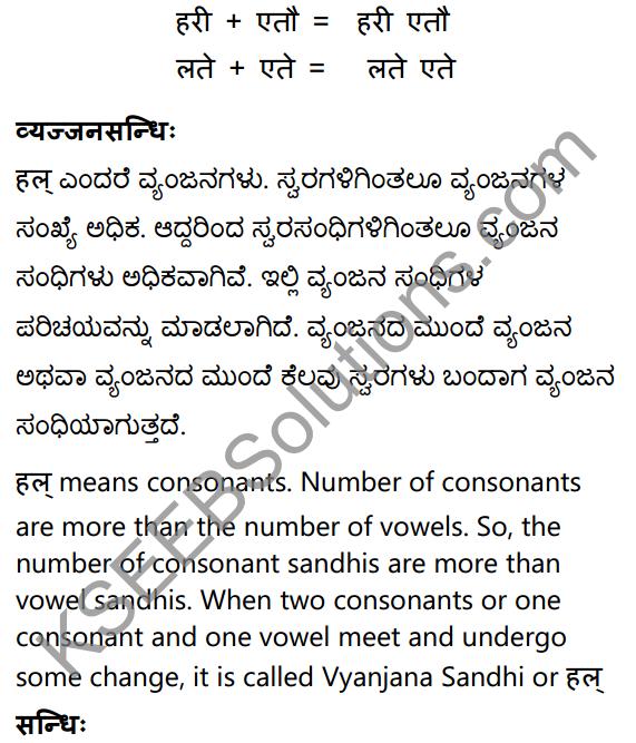 1st PUC Sanskrit Textbook Answers Vyakaran सन्धिः 12