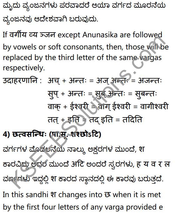 1st PUC Sanskrit Textbook Answers Vyakaran सन्धिः 15