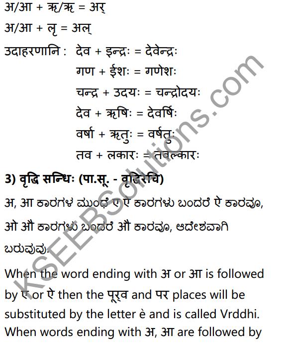 1st PUC Sanskrit Textbook Answers Vyakaran सन्धिः 6