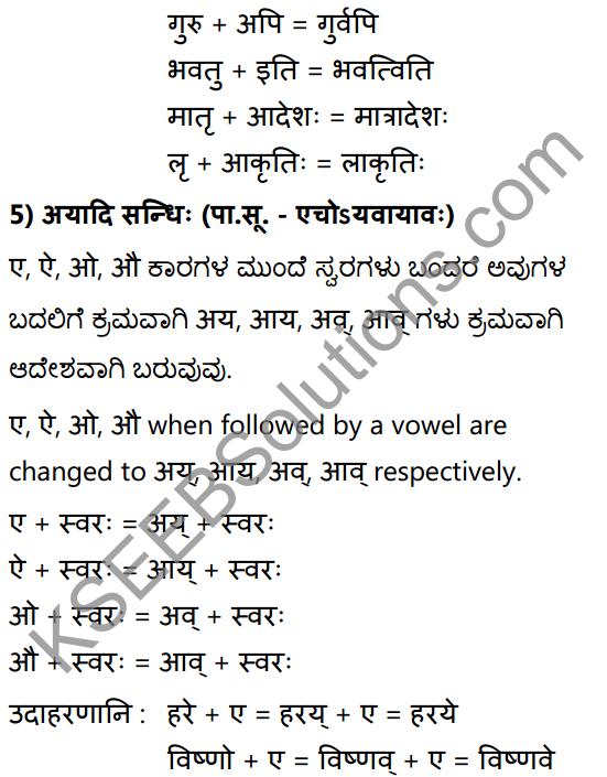 1st PUC Sanskrit Textbook Answers Vyakaran सन्धिः 9