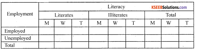 1st PUC Statistics Model Question Paper 1 with Answers - 5