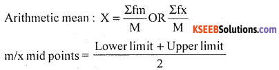 1st PUC Statistics Model Question Paper 1 with Answers - 9