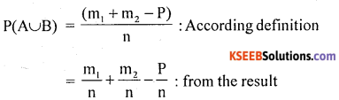 1st PUC Statistics Question Bank Chapter 9 Elements of Probability Theory - 28