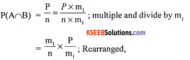 1st PUC Statistics Question Bank Chapter 9 Elements of Probability Theory - 34