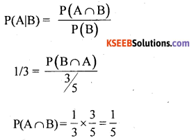 1st PUC Statistics Question Bank Chapter 9 Elements of Probability Theory - 8