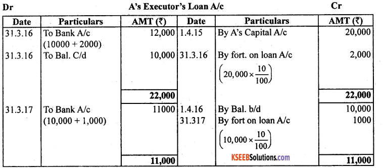 2nd PUC Accountancy Model Question Paper 2 with Answers - 29